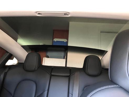 Tesla Model 3 partial back
